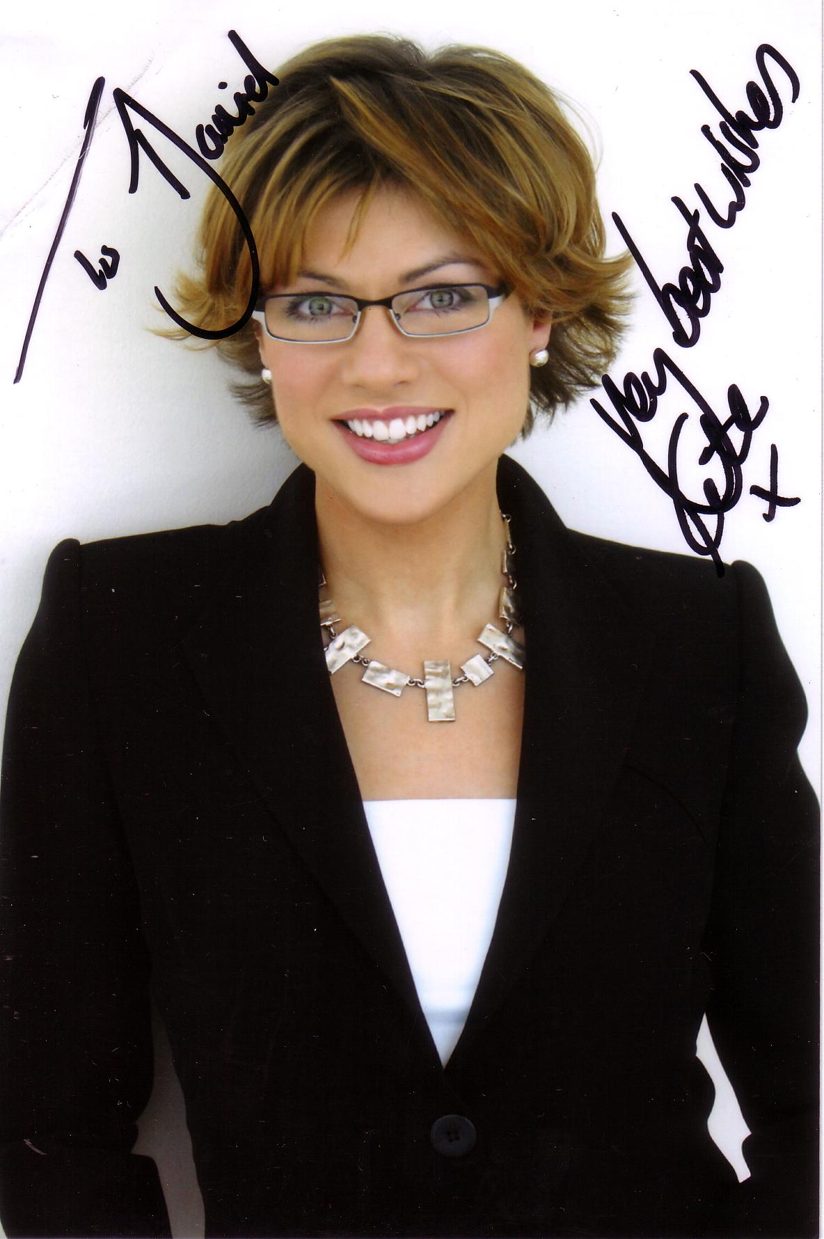Kate Silverton Autographs Mad